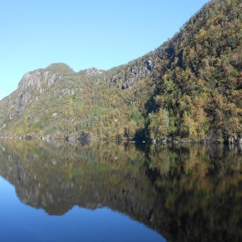 Paysage de l'Osterfjord