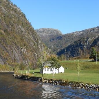Maison de Mostraumen, dans l'Osterfjord