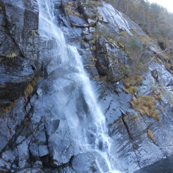 Cascade dans l'Osterfjord