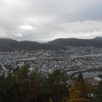 Vue de Bergen