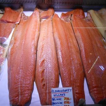 Étal du marché aux poissons